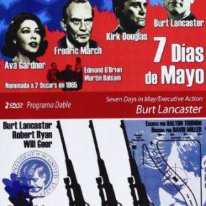 Programa-Doble-Burt-Lancaster-Siete-Das-De-Mayo-Accin-Ejecutiva-DVD-0