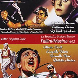 Programa-Doble-FelliniMasina-Volumen2-La-Strada-El-Jeque-Blanco-DVD-0