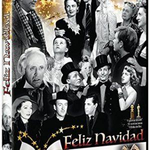 Coleccin-Feliz-Navidad-Cena-de-Navidad-La-Mujer-del-Obispo-Navidades-Blancas-Qu-Bello-Es-Vivir-Cuento-de-Navidad-Dulce-Evocacin-DVD-0