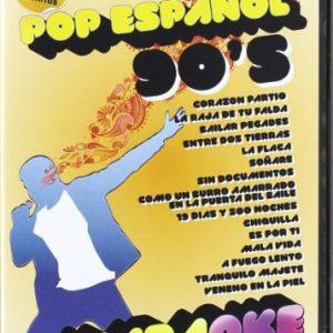 Karaoke-Pop-Espaol-90S-DVD-0