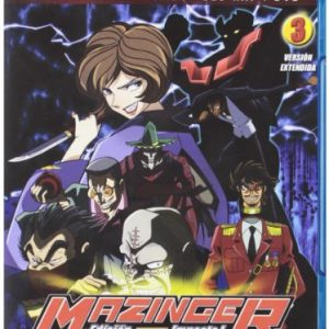 Mazinger-Z-Shin-Mazinger-Z-Volumen-3-Combo-br-dvd-Blu-ray-0