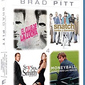 Pack-Brad-Pitt-El-Club-De-La-Lucha-Snatch-Cerdos-Y-Diamantes-Moneyball-Sr-Y-Sra-Smith-Blu-ray-0