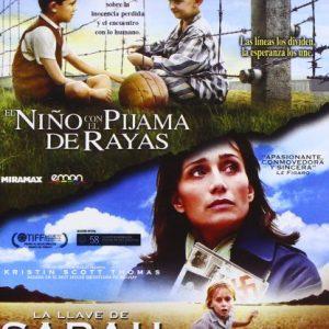 Pack-El-Nio-Con-El-Pijama-De-Rayas-La-Llave-De-Sarah-Blu-ray-0