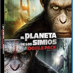 Pack-El-Origen-Del-Planeta-De-Los-Simios-El-Amanecer-Del-Planeta-De-Los-Simios-Blu-ray-0