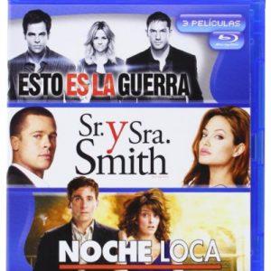 Pack-Esto-Es-La-Guerra-Sr-Y-Sra-Smith-Noche-Loca-Blu-ray-0