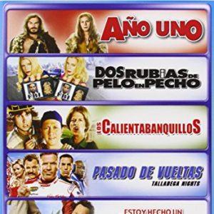 Pack-Factora-De-Humor-5-Dvds-Estoy-Hecho-Un-Animal-Los-Calientabanquillos-Pasado-De-Vueltas-Ao-Uno-Dos-Rubias-De-Pelo-En-Pecho-0