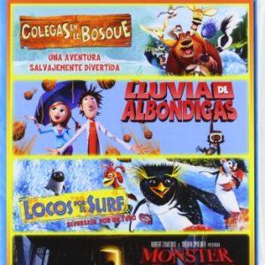 Pack-Infantil-1-Colegas-En-El-Bosque-Lluvia-De-Albondigas-Locos-Por-El-Surf-Monster-House-DVD-0