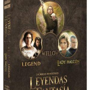 Pack-Leyendas-De-Fantasa-Willow-Legend-Lady-Halcn-Blu-ray-0