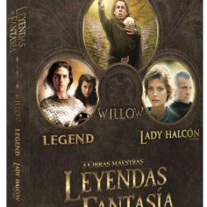 Pack-Leyendas-De-Fantasa-Willow-Legend-Lady-Halcn-DVD-0