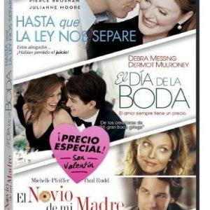 Pack-San-Valentn-Hasta-Que-La-Ley-Nos-Separe-El-Da-De-La-Boda-El-Novio-De-Mi-Madre-DVD-0