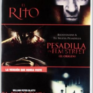 Triple-Pack-Exorcista-The-Rite-Nightmare-On-Elm-Street-DVD-0