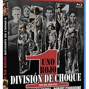 Uno-rojo-divisin-de-choque-BD-Blu-ray-0