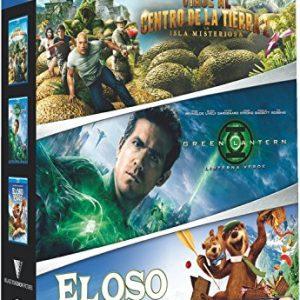 Viaje-Al-Centro-De-La-Tierra-2-Linterna-Verde-El-Oso-Yogui-Pack-3-Discos-Blu-ray-0