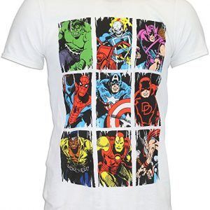 camiseta-vengadores-marvel-comic